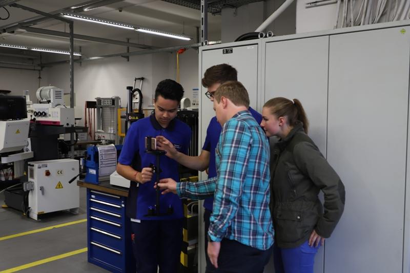 Workshop bei Feinguss Blank in Riedlingen
